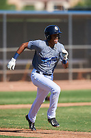 San Diego Padres Tre Carter (13) during an Instructional League camp day on October 4, 2016 at the Peoria Sports Complex in Peoria, Arizona.  (Mike Janes/Four Seam Images)
