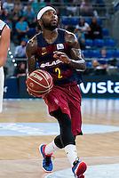 FC Barcelona Lassa's player Tyrese Rice during the match of the semifinals of Supercopa of La Liga Endesa Madrid. September 23, Spain. 2016. (ALTERPHOTOS/BorjaB.Hojas)