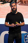 """Community Strategist of Naughty Dog, Arne Meyer during the presentation of the """"Uncharted, The Nathan Drake Collection"""" at Madrid Games Week 2015 in Ifema, 01 October 2015.<br /> (ALTERPHOTOS/BorjaB.Hojas)"""