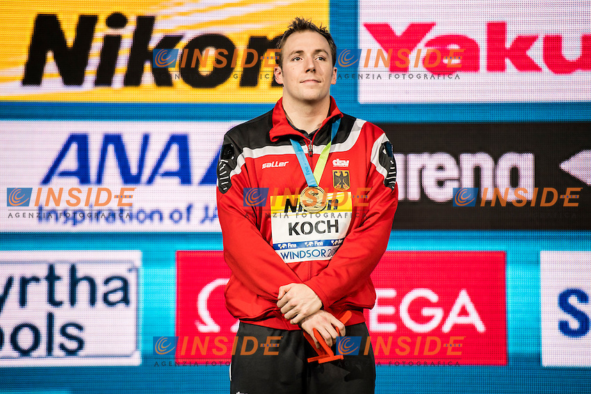 KOCH Marco GER Gold Medal CR<br /> Men's 200m Breaststroke<br /> 13th Fina World Swimming Championships 25m <br /> Windsor  Dec. 8th, 2016 - Day03 Finals<br /> WFCU Centre - Windsor Ontario Canada CAN <br /> 20161208 WFCU Centre - Windsor Ontario Canada CAN <br /> Photo &copy; Giorgio Scala/Deepbluemedia/Insidefoto