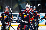 Stockholm 2013-12-28 Ishockey Hockeyallsvenskan Djurg&aring;rdens IF - Almtuna IS :  <br /> Djurg&aring;rden m&aring;lvakt Johan Mattsson deppar efter matchen<br /> (Foto: Kenta J&ouml;nsson) Nyckelord:  depp besviken besvikelse sorg ledsen deppig nedst&auml;md uppgiven sad disappointment disappointed dejected