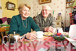 Kay O'Sullivan, Daltons avenue Killarney chatting with her neighbour Donie O'Dowd.