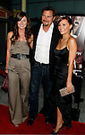 """HOLLYWOOD, CA. - September 03: Vanessa Evigan, Greg Evigan and Briana Evigan  arrive at the Los Angeles premiere of """"Sorority Row"""" at the ArcLight Hollywood theater on September 3, 2009 in Hollywood, California."""