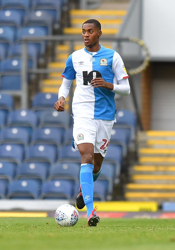 Blackburn Rovers' Tosin Adarabioyo<br /> <br /> Photographer Dave Howarth/CameraSport<br /> <br /> The EFL Sky Bet Championship - Blackburn Rovers v West Bromwich Albion - Saturday 11th July 2020 - Ewood Park - Blackburn <br /> <br /> World Copyright © 2020 CameraSport. All rights reserved. 43 Linden Ave. Countesthorpe. Leicester. England. LE8 5PG - Tel: +44 (0) 116 277 4147 - admin@camerasport.com - www.camerasport.com