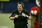 January 5th, 2008:  Ball State head coach Brady Hoke during the fourth quarter of the International Bowl at the Rogers Centre in Toronto, Ontario Canada...Rutgers defeated Ball State 52-30.  ..Photo By:  Mike Janes Photography
