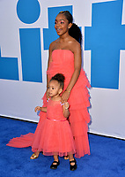 "LOS ANGELES, USA. April 08, 2019: Marsai Martin & Cydni Martin at the premiere of ""Little"" at the Regency Village Theatre.<br /> Picture: Paul Smith/Featureflash"