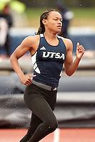 SAN ANTONIO, TX - MARCH 21, 2015: The University of Texas at San Antonio Roadrunners host the UTSA Challenge Invitational Track & Field Meet at the Park West Athletics Complex. (Photo by Jeff Huehn)