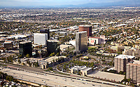 Aerial Photograph of Costa Mesa and the 405 freeway
