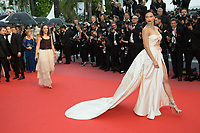 CANNES, FRANCE - MAY 16: Adriana Lima attends the screening of 'Burning' during the 71st annual Cannes Film Festival at Palais des Festivals on May 16, 2018 in Cannes, France. <br /> <br /> Picture: Kristina Afanasyeva/Featureflash/SilverHub 0208 004 5359 sales@silverhubmedia.com