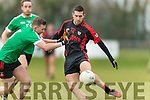 Paul Murphy Kenmare in action against Andrew O'Connell Adare at Mallow on Sunday