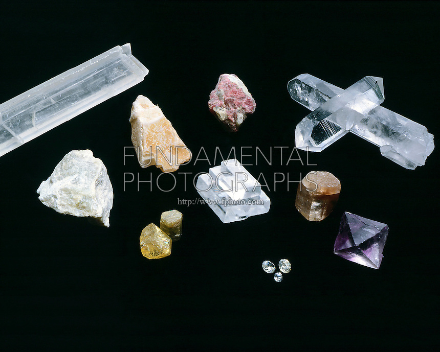 MOHS TABLE OF HARDNESS <br />