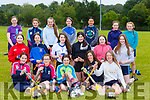 Killarney Camogie club players who returned to training in Spa GAA club on Monday evening front row Faye O'Carroll, Megan Gillespie, Ava lynch, Anna Ryan, Catherine Ryan, Middle row: Ilona Sheehan, Cliona Lynch, Yasmin O'Brien, Orla Cronin, Chloe McCArthy, Anne Hickey. Back row: Maggie Hickey, Ciara Dineen, Chloe Breen, Tierna Dineen, Yin Leniston, Niamh Cantillon, Ava Moore