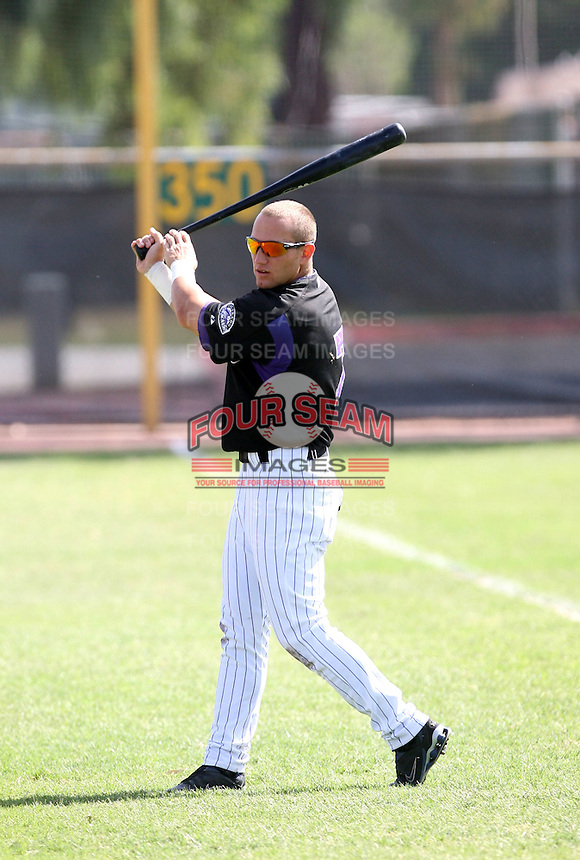 Kevin Clark / Colorado Rockies 2008 Instructional League..Photo by:  Bill Mitchell/Four Seam Images