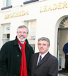 Gerry Adams in Drogheda Leader