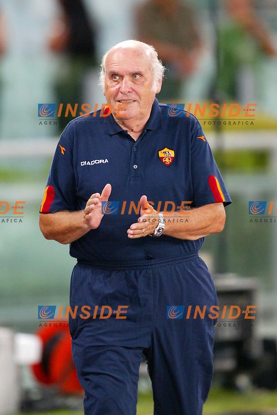 Roma 25/8/2003<br /> Presentazione AS Roma <br /> Il massaggiatore  Giorgio Rossi, 47 anni nella Roma <br /> Foto Staccioli / Insidefoto