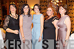 Pictured at Kerry Fashion Weekend awards held in the Carlton hotel, Tralee on Saturday evening, were l-r: Evelyn Langford (Castlemaine) with Yvonne, Tina, Michelle and Betty Griffin (Killorglin)..