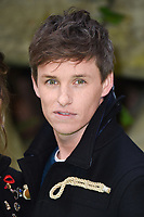 "Eddie Redmayne<br /> arriving for the ""Early Man"" world premiere at the IMAX, South Bank, London<br /> <br /> <br /> ©Ash Knotek  D3369  14/01/2018"