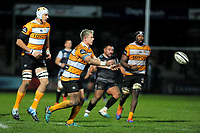Tian Schoeman of Cheetahs in action during the Guinness Pro 14 Round 7 match between Ospreys and Cheetahs at The Gnoll in Neath, Wales, UK. Saturday 30 November 2019