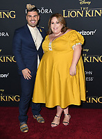 """09 July 2019 - Hollywood, California - Chrissy Metz, Matt Boyd. Disney's """"The Lion King"""" Los Angeles Premiere held at Dolby Theatre. <br /> CAP/ADM/BT<br /> ©BT/ADM/Capital Pictures"""