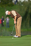 Jim Furyk on the 13th green during Practice Day2 the 2006 Ryder Cup at The K Club 21st September 2006.( Photo Eoin Clarke/Newsfile)
