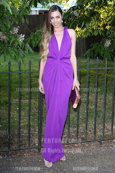Amber Le Bon arriving for the Serpentine Summer Party, at the Serpentine Gallery, Hyde Park, London. 01/07/2014 Picture by: Alexandra Glen / Featureflash