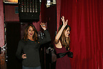 All My Children's Jamie Luner & Chrishell Stause came to see fans on November 22, 2009 at the Brokerage Comedy Club & Vaudeville Cafe, Bellmore, NY for a Q & A, autographs and photos. (Photo by Sue Coflin/Max Photos)