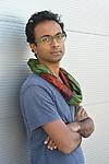 Anjan Sundaram Indian writer in 2018.