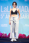 Andrea Guasch during presentation of new cast of 'La Llamada' theater show at Teatro Lara in Madrid, Spain. May 24, 2018. (ALTERPHOTOS/Borja B.Hojas)
