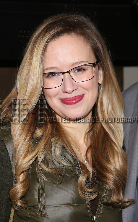 Molly Ranson attend the Manhattan Theatre Club's Broadway debut of August Wilson's 'Jitney' at the Samuel J. Friedman Theatre on January 19, 2017 in New York City.