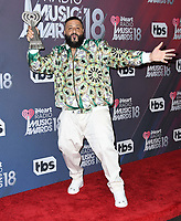 11 March 2018 - Inglewood, California - DJ Khaled. 2018 iHeart Radio Awards - Press Room held at The Forum. <br /> CAP/ADM/BT<br /> &copy;BT/ADM/Capital Pictures