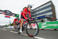 Picture by Allan McKenzie/SWpix.com - 15/05/2018 - Cycling - OVO Energy Tour Series Womens Race - Round 2:Motherwell - Megan Barker.