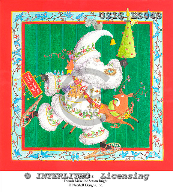 Ingrid, CHRISTMAS SANTA, SNOWMAN, WEIHNACHTSMÄNNER, SCHNEEMÄNNER, PAPÁ NOEL, MUÑECOS DE NIEVE, paintings+++++,USISLS04S,#X# vintage