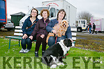 """Enjoying  the Kingdom County Fair in Ballybeggan on Sunday were l-r  Franzisca Wimzit, Teresa Sugrue and Breda Sugrue from Clash, Tralee with """"Sally"""" and """"Beano""""."""