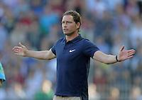 FUSSBALL   1. BUNDESLIGA  SAISON 2011/2012   8. Spieltag   01.10.2011 SC Freiburg - Borussia Moenchengladbach         Trainer Marcus Sorg (SC Freiburg)