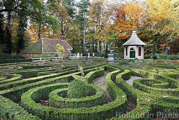 Nederland Arnhem 2015.  Het Nederlands Openluchtmuseum. De Formele Tuin.  Foto Berlinda van Dam / Nederlandse Hoogte