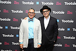 """Robert Horn and David Yazbeck attends the Cast Meet & Greet for Broadway's """"Tootsie"""" The Musical at the New York Mariott Marquis Hotel on March 13, 2019 in New York City."""