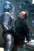 RoboCop (1987) <br /> Peter Weller &amp; Kurtwood Smith<br /> *Filmstill - Editorial Use Only*<br /> CAP/KFS<br /> Image supplied by Capital Pictures