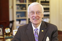 20141111_Former Governor Gerald L. Baliles, director of the Miller Center of Public Affairs