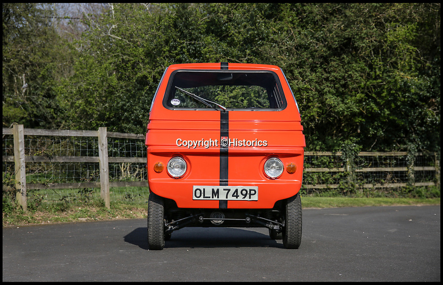 BNPS.co.uk (01202 558833)<br /> Pic:  Historics/BNPS<br /> <br /> It has been claimed that in the future we will all be driving electric cars but a box-like attempt from the 1970s has now emerged for sale.<br /> <br /> Made by legendary Italian coachbuilders Zagato, the Zele 2000 was conceived in the midst of a fuel crisis in the 1970s.<br /> <br /> The quirky motor is powered by a 2,000cc electric motor and has a range of just 50 miles.<br /> <br /> Just a few hundred were ever made making them incredibly rare in today's market.
