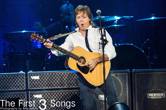 Paul McCartney performs at the Outside Lands Music & Art Festival at Golden Gate Park in San Francisco, California on August 9, 2013.