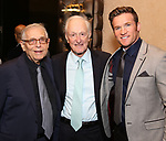 Richard Matlby Jr., David Shire and Claybourne Elder attends the Abingdon Theatre Company Gala honoring Donna Murphy on October 22, 2018 at the Edison Ballroom in New York City.