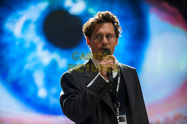 Johnny Depp<br /> in Transcendence (2014) <br /> *Filmstill - Editorial Use Only*<br /> CAP/FB<br /> Image supplied by Capital Pictures