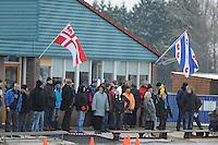 KORTEBAAN: STEGGERDA: IJsvereniging Vooruitgang, 15-01-2012, Schaatsseizoen 2012-2013, Eerste kortebaanwedstrijd van het seizoen, kortebaanpubliek, ©foto Martin de Jong