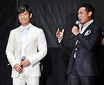 "Byung-hun Lee and Jon M. Chu, May 27, 2013 : Byung hun Lee, May 27, 2013, Tokyo, Japan : South Korean Actor Byung hun Lee(L) and Director Jon M. Chu attend the Japan premiere for the film ""G.I.Joe:Retaliation"" in Tokyo, Japan, on May 27, 2013. The film will open on June 7 in Japan. (Photo by Keizo Mori/AFLO)"