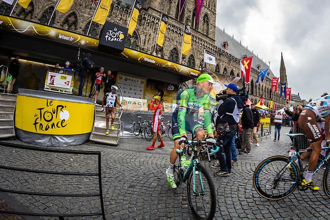 Lars Boom, Tour de France, Stage 5: Ypres > Arenberg Porte du Hainaut, UCI WorldTour, 2.UWT, Wallers, France, 9th July 2014, Photo by Thomas van Bracht / Peloton Photos