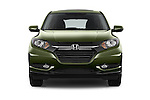 Car photography straight front view of a 2016 Honda HR-V EX 5 Door Suv Front View