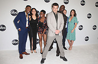 BEVERLY HILLS, CA - August 7: Titus Makin Jr., Alyssa Diaz, Afton Williamson, Richard Jones, Alexi Hawley, Mercedes Mason, Nathan Fillion, at Disney ABC Television Hosts TCA Summer Press Tour at The Beverly Hilton Hotel in Beverly Hills, California on August 7, 2018. <br /> CAP/MPI/FS<br /> &copy;FS/MPI/Capital Pictures