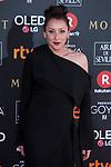 Mariola Fuentes attends red carpet of Goya Cinema Awards 2018 at Madrid Marriott Auditorium in Madrid , Spain. February 03, 2018. (ALTERPHOTOS/Borja B.Hojas)