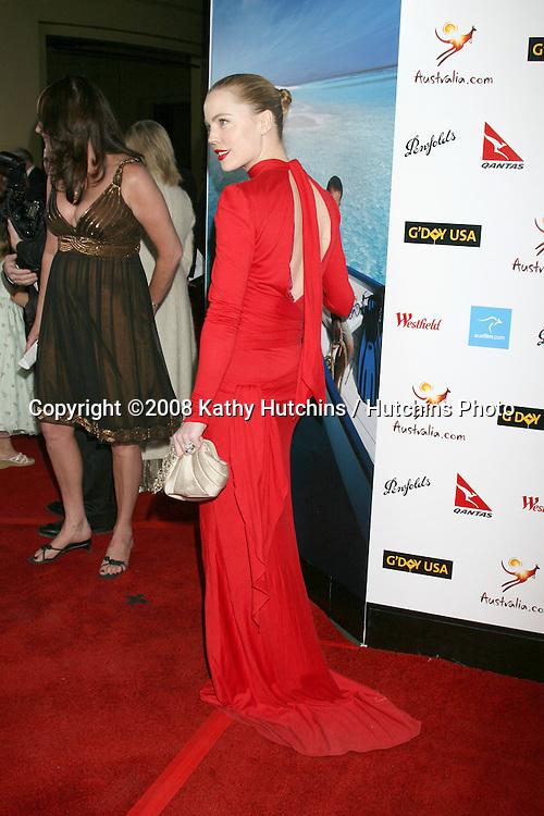Melissa George.G'Day USA .Australia.com Black Tie Gala.Grand Ballroom, Hollywood & Highland.Los Angeles, CA.January 19, 2008.©2008 Kathy Hutchins / Hutchins Photo...            .