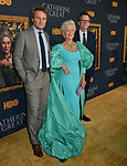 "Jason Clarke, Helen Mirren, Philip Martin 037 attends the Los Angeles Premiere Of The New HBO Limited Series ""Catherine The Great"" at The Billy Wilder Theater at the Hammer Museum on October 17, 2019 in Los Angeles, California."